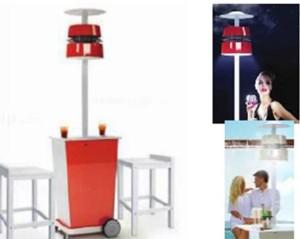 360 mobile misting fan